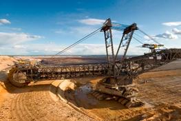Open mining