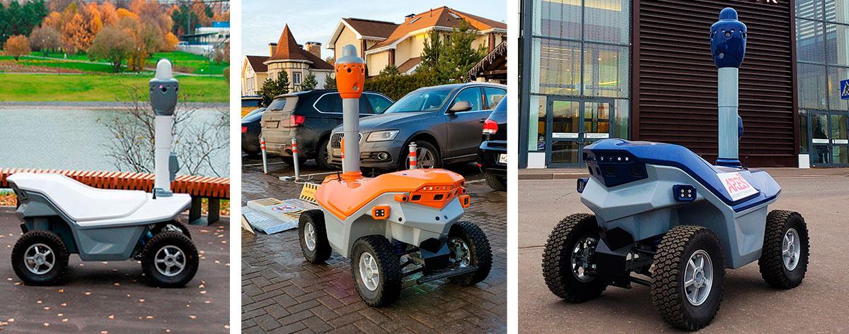 AI security patrol robot