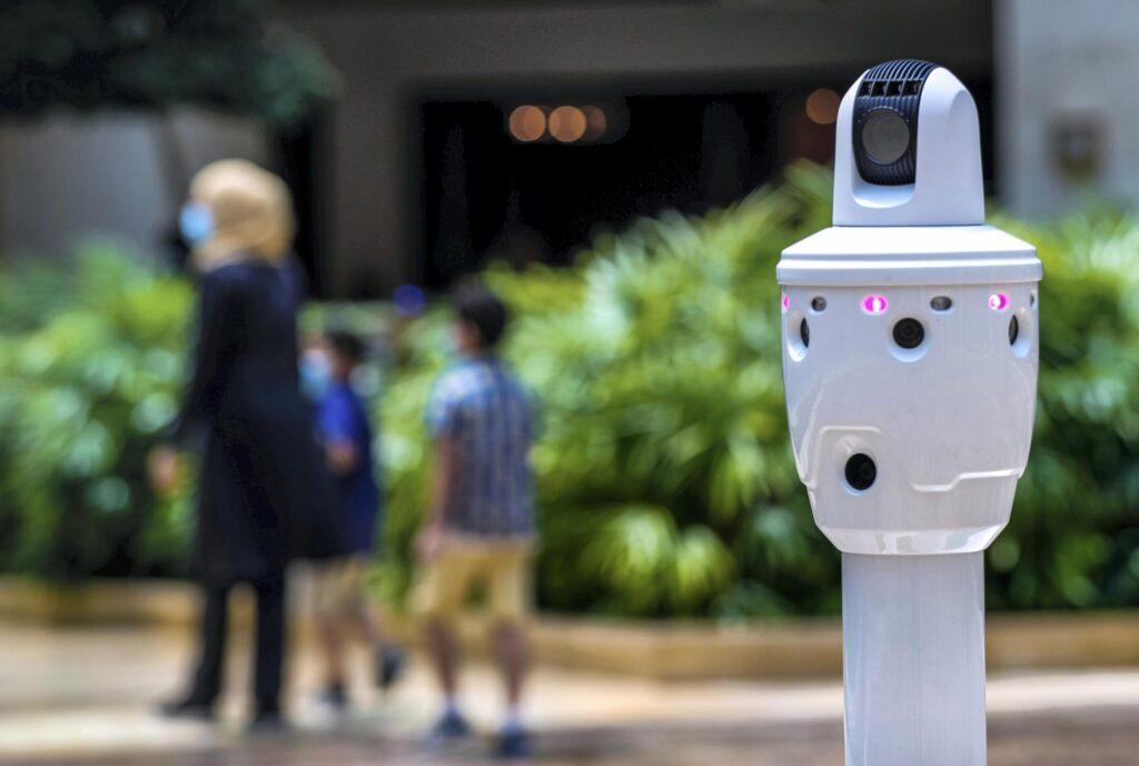 Face Mask Detection Robot