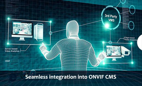 Seamless integration into ONVIF CMS