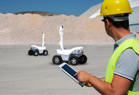 A Robot Fleet is the foundation of Managed<br> Security Robotics Services (MSRS)